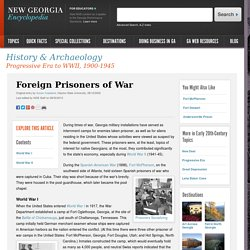 Foreign Prisoners of War