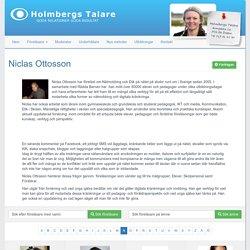 Föreläsare Niclas Ottosson