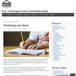 FLS - Föreningen Lärare i Samhällskunskap
