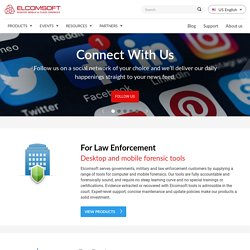 Password recovery, forensic, forensics, system and security software from ElcomSoft : recover or reset lost or forgotten password, remove protection, unlock system