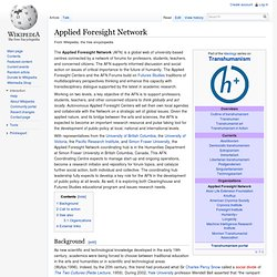 Applied Foresight Network