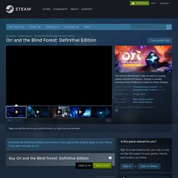 Ori and the Blind Forest: Definitive Edition on Steam