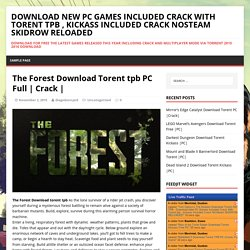 The Forest Download Torent tpb PC Full