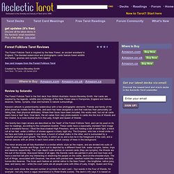 Forest Folklore Tarot Review at Aeclectic Tarot