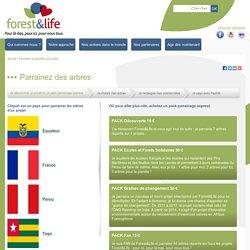 Forest&Life: Parrainage