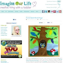 Imagine Our Life :: Forest Quiet Book Page
