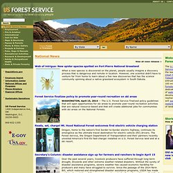 US Forest Service - Caring for the land and serving people.