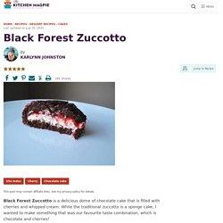 Black Forest Zuccotto