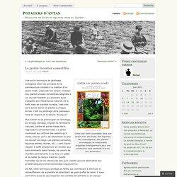 Le jardin forestier comestible « Potagers d'antan