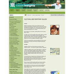 Forestry Insights
