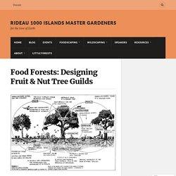 Food Forests: Designing Fruit & Nut Tree Guilds – Rideau 1000 Islands Master Gardeners