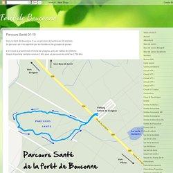 Foret de Bouconne: Parcours Santé 01-10