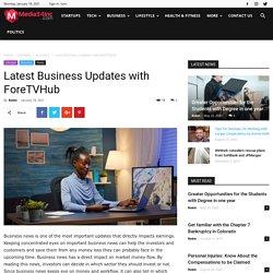 Latest Business Updates & News