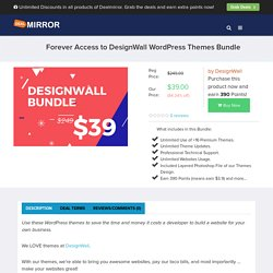 Forever Access to DesignWall WordPress Themes Bundle