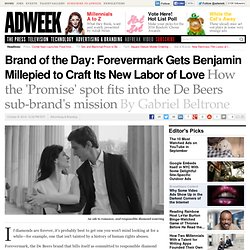 Brand of the Day: Forevermark Gets Benjamin Millepied to Craft Its New Labor of Love