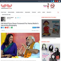 PM Modi Pens Down Foreword For Hema Malini Upcoming Biography