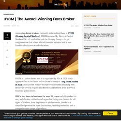 The Award-Winning Forex Broker