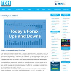 Forex Today's Ups and Downs - Forex Broker Hub