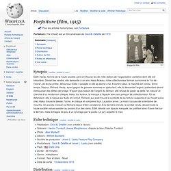 Forfaiture (film, 1915)