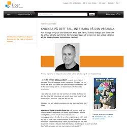 Författarkrönika Thomas Nygren Svenska för dig Tala så att andra lyssnar Sv 7-9 torg Kampanjer Liber