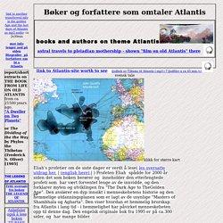 Bøker og forfattere som omtaler Atlantis