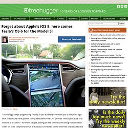 Forget about Apple's iOS 8, here comes Tesla's OS 6 for the Model S!