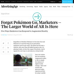 The Larger World of AR Is Here