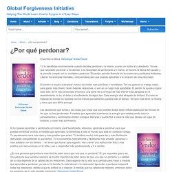 Global Forgiveness Initiative