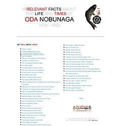 Forgotten Facts About Oda Nobunaga: Page 1