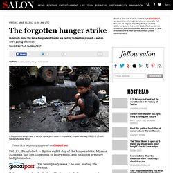 The forgotten hunger strike