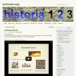 Förhistorisk tid