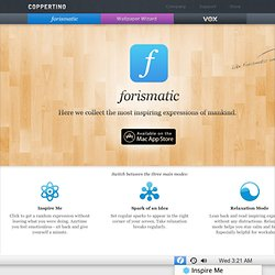Forismatic for Mac