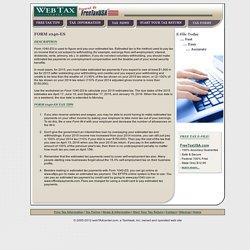 Form 1040-ES description and tips - Web Tax Center