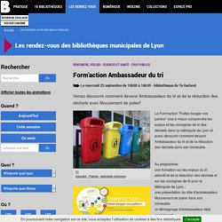 Form'action Ambassadeur du tri