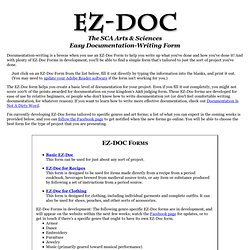 EZ-DOC: The Form That Writes Documentation For You