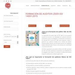 Formación de auditor líder ISO 14001:2015 - IAS Latin America
