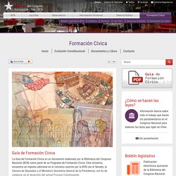 Formación Cívica - Biblioteca del Congreso Nacional de Chile - BCN