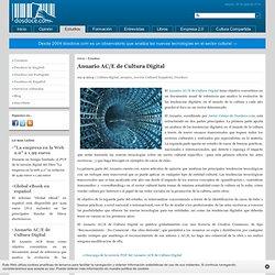 Anuario de Cultura Digital