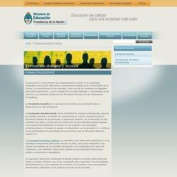 Formación docente - Argentina