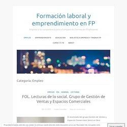 Empleo – Formación laboral y emprendimiento en FP