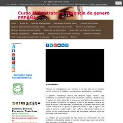 Acoso moral - Formacion a distancia toda España y Latinoamerica