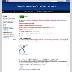FORMACIÓN Y ORIENTACIÓN LABORAL Pablo García