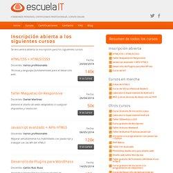 Cursos de formación online tutorizada