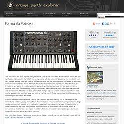 Formanta Polivoks Vintage Synth Explorer.url