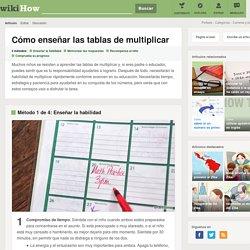 4 formas de enseñar las tablas de multiplicar