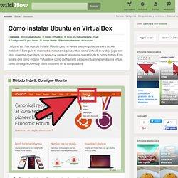 6 formas de instalar Ubuntu en VirtualBox