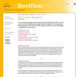 File Format Migration
