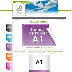Format de papier A1 - Le format de papier des affiches