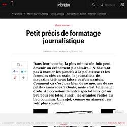Petit précis de formatage journalistique