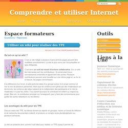 Formateurs - Comprendre et utiliser Internet